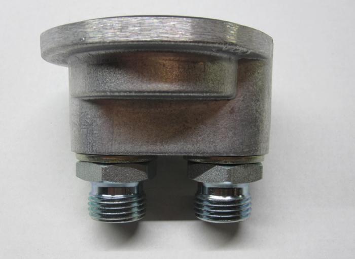Mocal Ölfilterdeckel 3/4 BSP (TOP1)  Anschluss 1/2 Zoll BSP Aussen