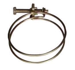 Doppeldraht-Schlauchklemme 102mm - 115mm