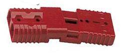 Starthilfestecker komplett  klein rot für Kabel bis 6 mm