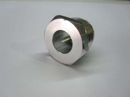 Aufschweißadapter Aluminium JIC D12  1-1/16x12