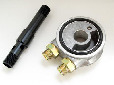 Ölkühler-Adapterplatte VR6 -97, ohne Thermostat