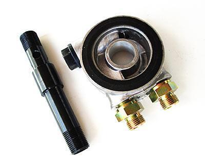 Ölkühler-Adapterplatte VR6-97  mit Thermostat