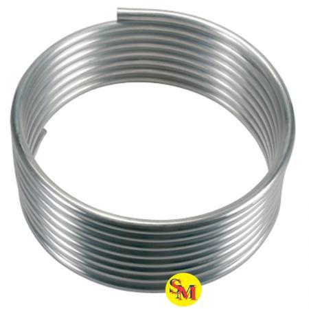 Aluminiumrohr 6x8mm 4m  für Löschanlage