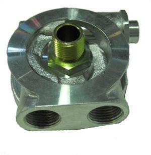 Mocal Ölkühler-Adapterplatte M 20x1,5  mit Thermostat