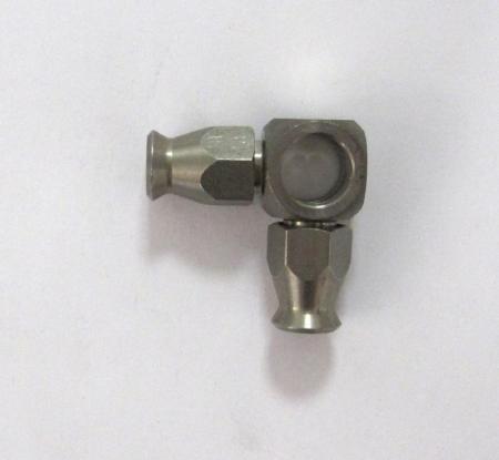 Anschluß Doppelbanjo 10mm 90°  Dash 03 Edelstahl