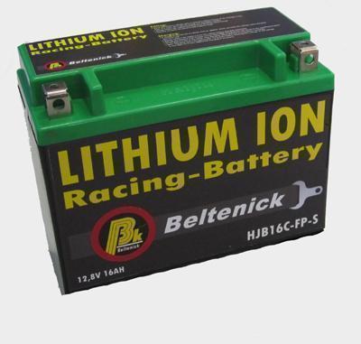 Beltenick® Rennbatterie 12V 2,4AH - 140CCA LiFePo4  Lithium Ionen 0,6 kg