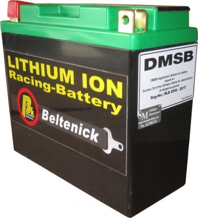 Beltenick® Rennbatterie 12V 3,8AH - 220CCA LiFePo4  Lithium Ionen 1,1 kg   DMSB zertifiziert