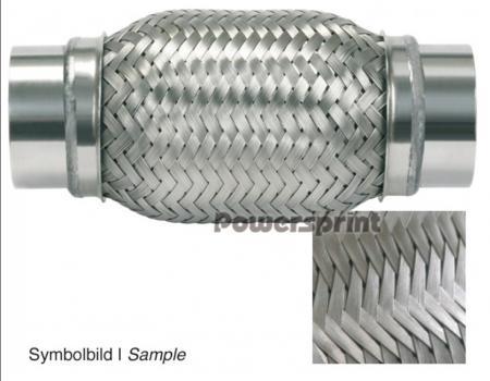 Powersprint Flexrohr ID48mm  DD/B 225mm lang B 275mm