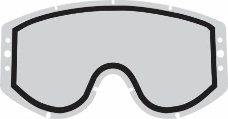 Ersatzscheibe Smith Fuel Roll off´s klar  Doppelverglasung