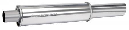 Powersprint Endschalldämpfer 65mm  Ø 89 mm Endrohr