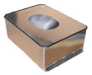 ATL Alubehälter 22gal  passend für SA122A verschraubter Deckel