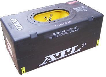 ATL Sicherheitstank 10 gal. 40ltr.  FIA FT3 zugelassen ohne Zubehör