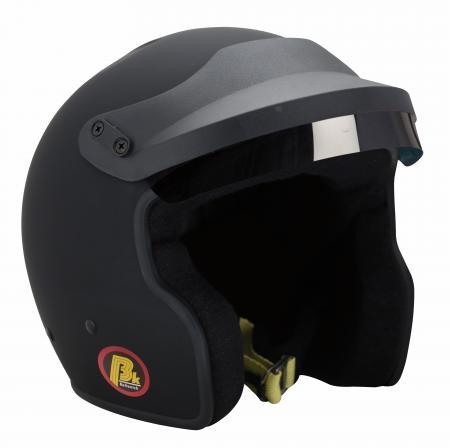 Beltenick® OF Racing mit M6 Terminals schwarz  Homologation FIA 8859-2015 Jet Helm