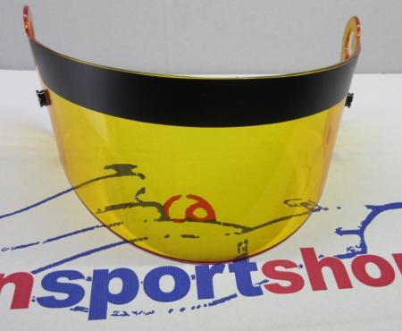Visier für Beltenick® Beltenick® Full Face Carbon 611 Helm  amber (gelb)