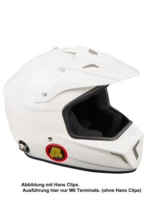 Beltenick® FIA Cross Helm M6 Terminals   - Homologation FIA 8859-2015