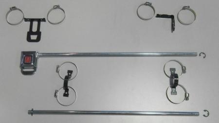 Beltenick® Hardwarekit für Fensternetz  Universal für 400mm Fensternetze