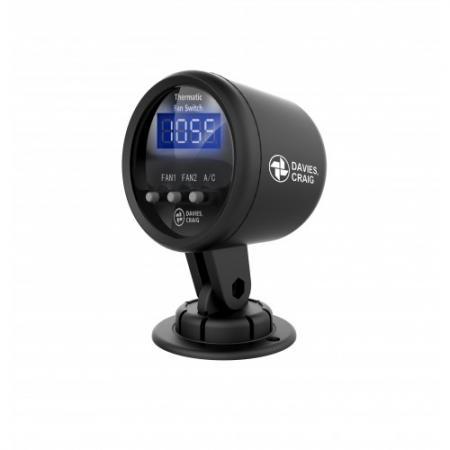 Temperaturanzeige und Thermoschalter  für Wasserpumpe und Lüfter 12V