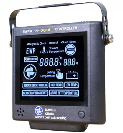 Control Panel - LCD Display mit Alarmfunktionen  Davies Craig  für 12V und 24V