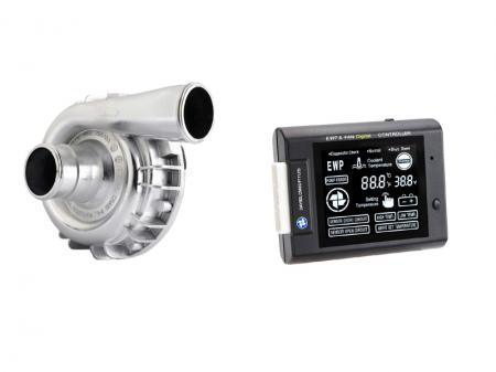 Set aus EWP115 - Aluminium - 24V und Kontrollpanel  Davies Craig