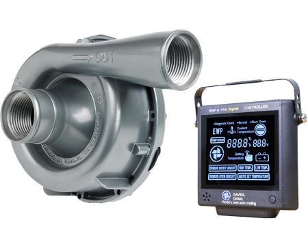 Set aus EWP150 Aluminium 12V und Kontrollpanel (8002) Davies Craig
