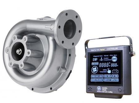 Set aus EWP130 Aluminium 12V und Kontrollpanel (8002) Davies Craig