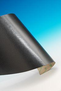 Carbonplatte selbstklebend 500x250mm
