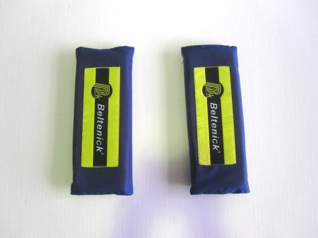 Beltenick® Gurtpolster 75mm blau  Set aus 2 Stück