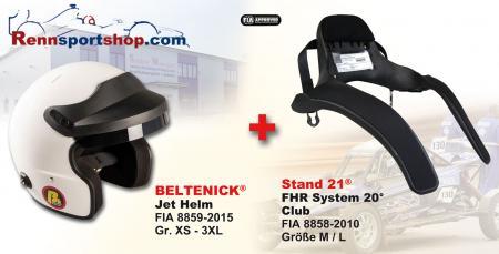 Hans Komplettangebot Open Face  Beltenick® Kombi Angebot Stand 21 FHR System