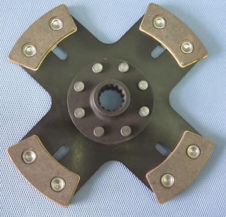 Kupplungsscheibe Sinterstern 4-Pad Durchm. 180   Verzahnung 1x23 (Porsche, Ford, Mitsubishi,  Sadev)