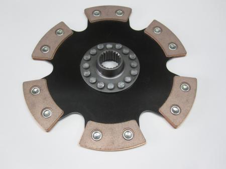 Kupplungsscheibe Sinterstern 6-Pad Durchm. 215   Verzahnung VW /  Porsche / Chevrolet / Daewoo 20,4x24