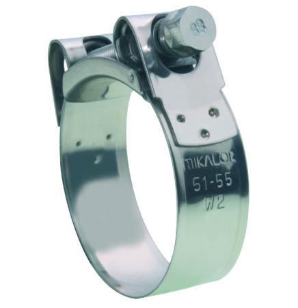 Mikalor Schelle aufklappbar Supra W2   Spannbereich 121mm-130mm 25mm breit