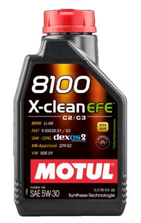Motorenöl Motul 8100 X-clean EFE 5W30