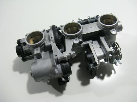 Drosselklappenteil Yamaha MT09  komplett original gebraucht