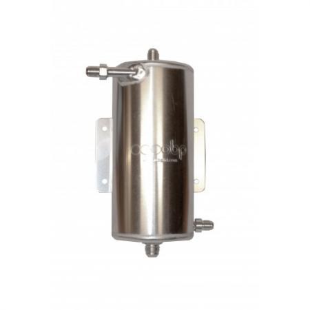 OBP Aluminium Catchtank 1,5 ltr.  4 Anschlüsse JIC