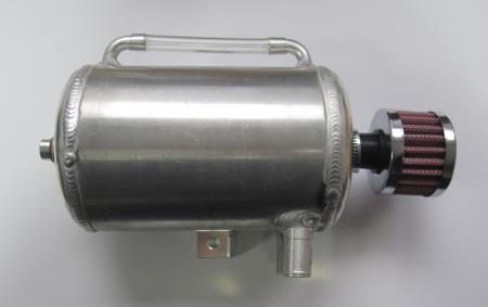 Öl Catchtank  1 liter rund mit Filter