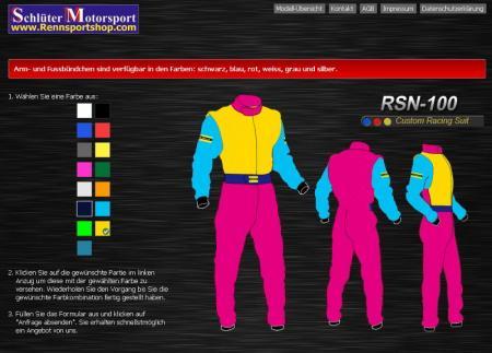 Rennoverall Beltenick® RSN100  Custom Design