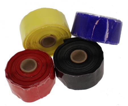 Samco Silikonband rot   30mm breit, länge 5m