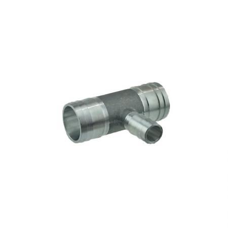 T-Schlauchverbinder aus Aluminiumguss, 32x16x32 mm