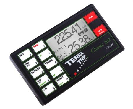 Terratrip 202 Classic Plus V5 - GPS GeoTrip  Elektronischer Wegstreckenzähler