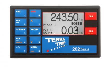 Terratrip 202 Plus V4  Elektronischer Wegstreckenzähler