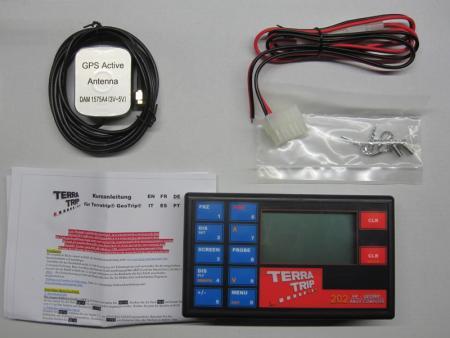 Terratrip 202 GeoTrip mit GPS v5  Elektronischer Wegstreckenzähler