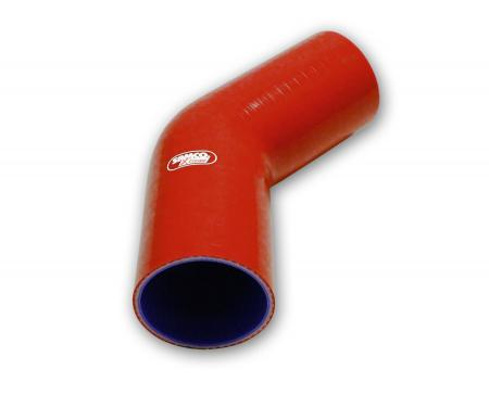 Samco Xtreme 45° Bogen 18mm   rot